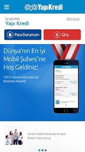 Yapı Kredi Mobil Bankacılık- screenshot thumbnail