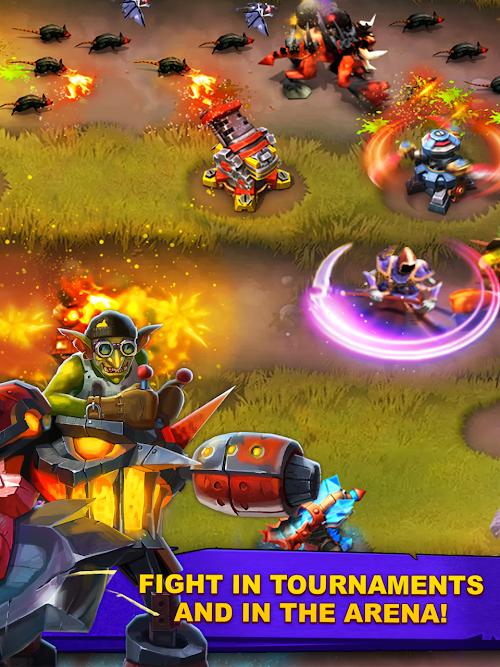 Screenshot 2 Goblin Defenders 2 1.6.487 APK+DATA MOD