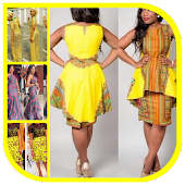 Conception de robe africaine