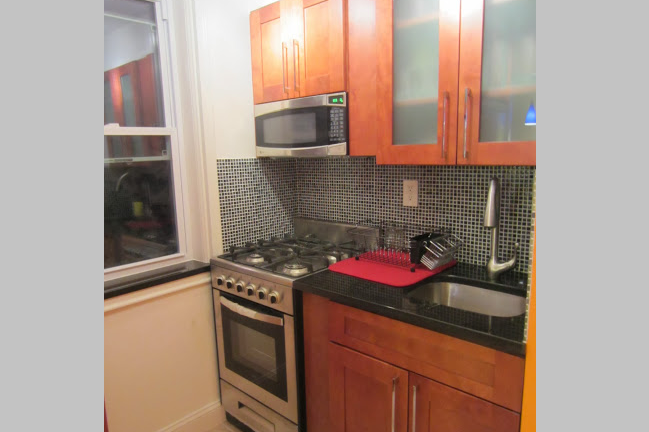 Fully equipped kitchen at East 25th Street, Kips Bay