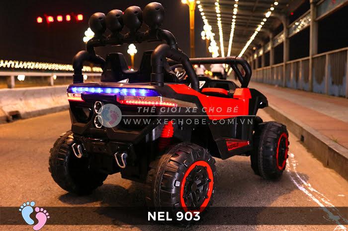 Xe ô tô điện địa hình NEL-903 4 động cơ 8