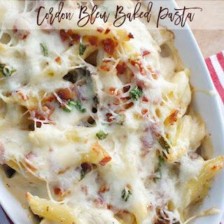 Cordon Bleu Baked Pasta