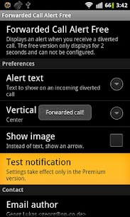 Forwarded Call Alert Free ROOT 2