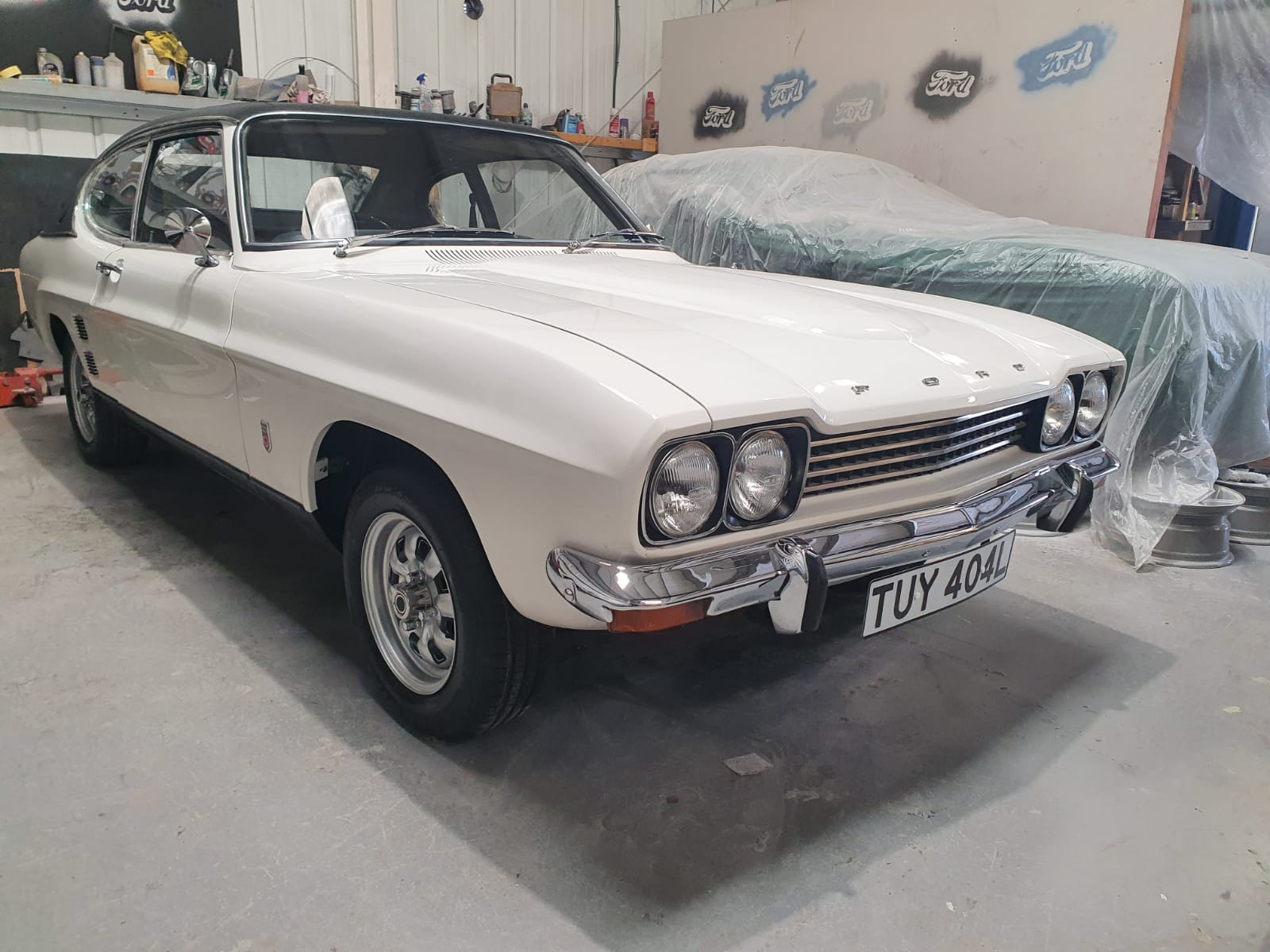 Ford Capri Mk1 3.0 Gxl Hire Dudley