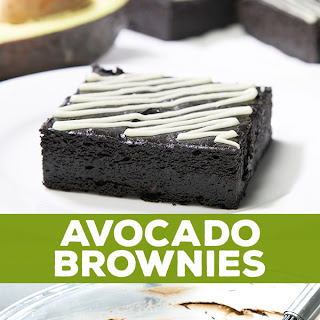 Gluten Free Avocado Brownies.