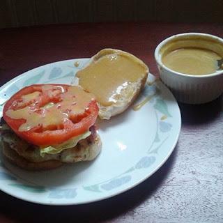 Chicken Bacon Dijon Sandwich.