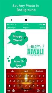 Diwali Keyboard Theme - náhled