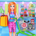 High School Girls Shopping: Cash register game icon