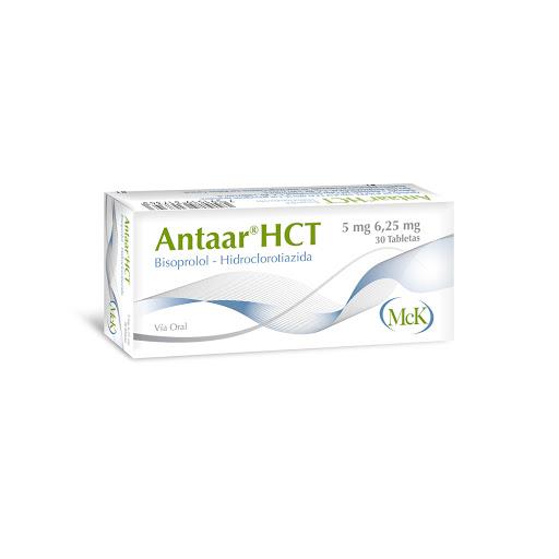 Bisoprolol + Hidroclorotiazida Antaar HCT 5mg/6.25mg