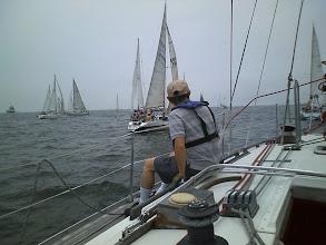 Photo: 久々のレースで他艇も張り切っていますね