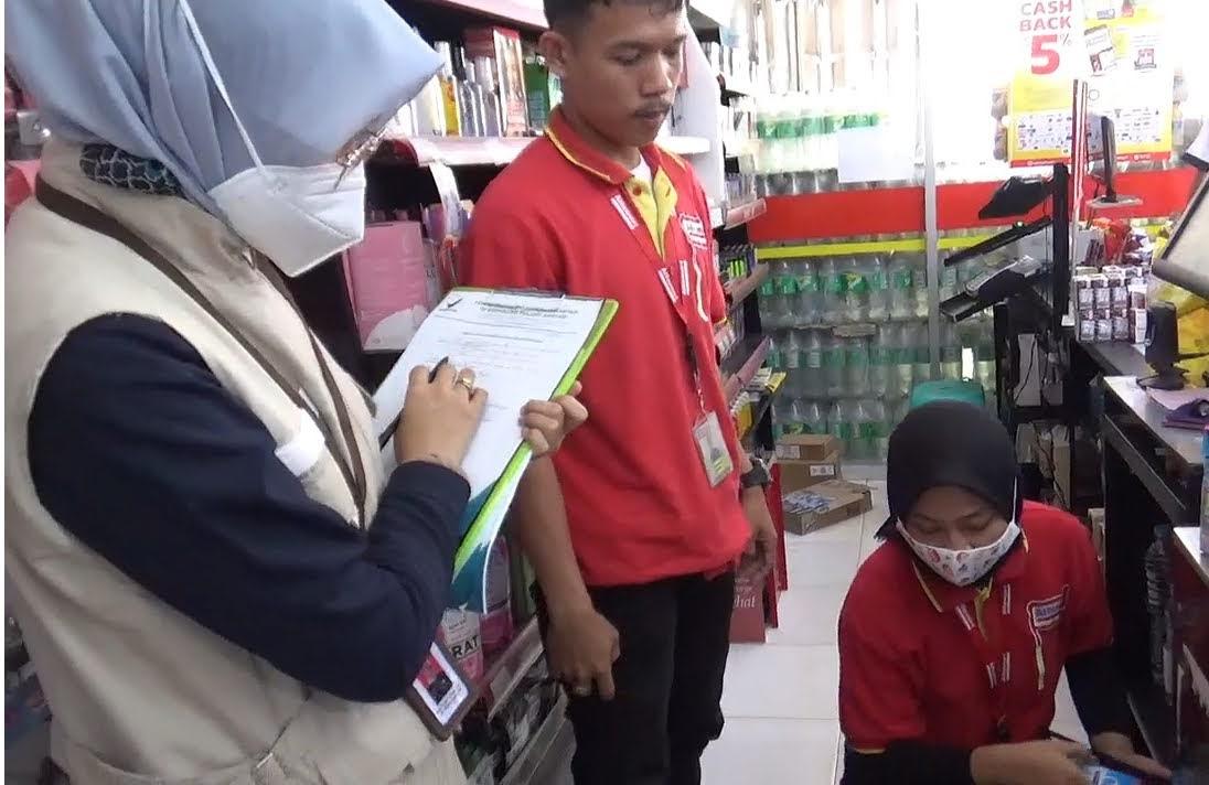 BP Pom Sidak Pasar Kibang Budi Jaya Atisipasi Pagan Dibulan Ramadhan