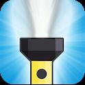 Simple LED flashlight icon