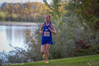 Photo: Varsity Girls 4A Mid-Columbia Conference Cross Country District Championship Meet  Buy Photo: http://photos.garypaulson.net/p556009210/e485584dc