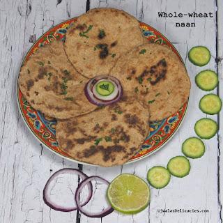 Whole-wheat Naan