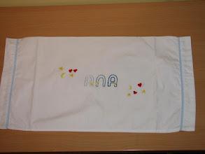 Photo: Almohada de juego de sábana de cuna