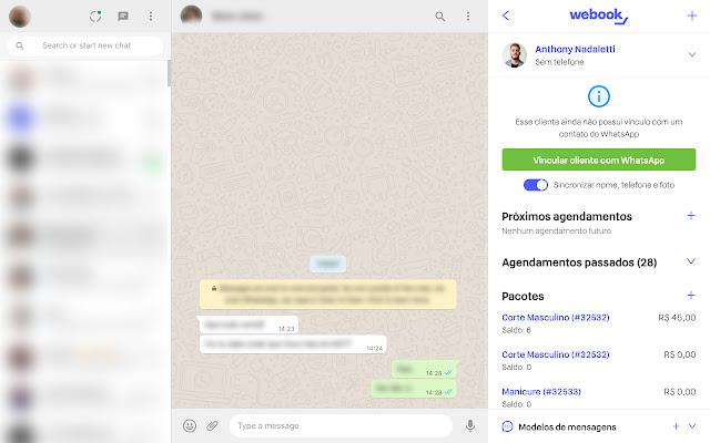 BelasisBooster: Agenda e CRM no WhatsApp