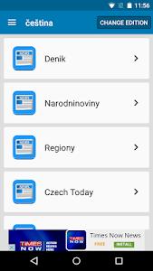 Czech Newspapers screenshot 1