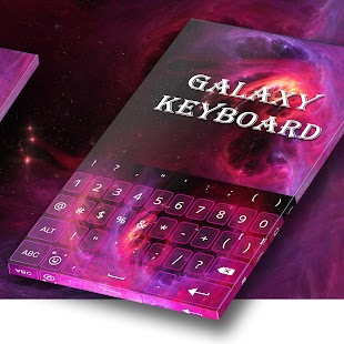Galaxy Prime InstaKeyboard - náhled