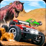 Dino World Car Racing Icon