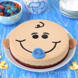 Baby Shower Dessert - Cheesecake Baby