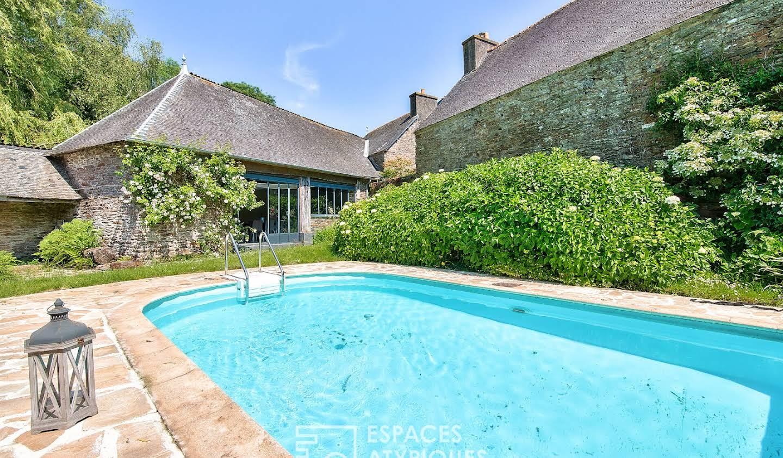 Maison avec piscine Saint-Guen