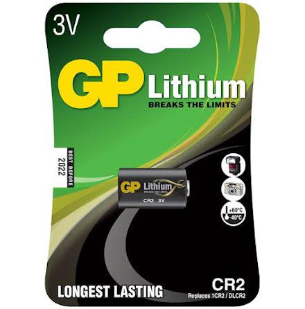 Batteri GP Lithium CR2 1/fp