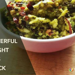 Anti-inflammatory Avocado, Red palm oil, Seaweed snack.