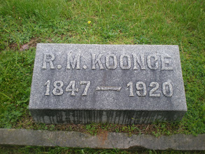 Photo: Robert Manley Koonce - buried at Rose Hill Cemetery