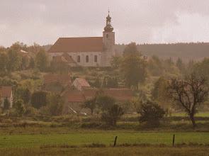 Photo: Dalsza podróż ponownie wiedzie przez Słup. XV - wieczny Kościół Wniebowzięcia Najświętszej Marii Panny.