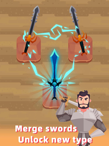 Merge Sword - Idle Blacksmith Master 1.3.4 screenshots 6