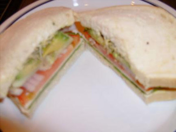 Seaside Garden Sandwich Recipe