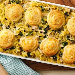 Creamy Spinach Tuna Casserole