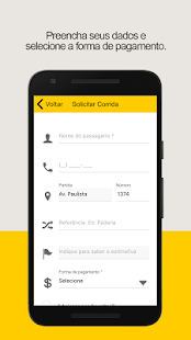 Ligue taxi - TaxiDigital: miniatura da captura de tela