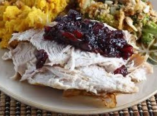Turkey Breast With Stuffing And Gravy Recipe