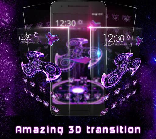 3D Fidget Spinner Launcher 5.31.10 screenshots 5
