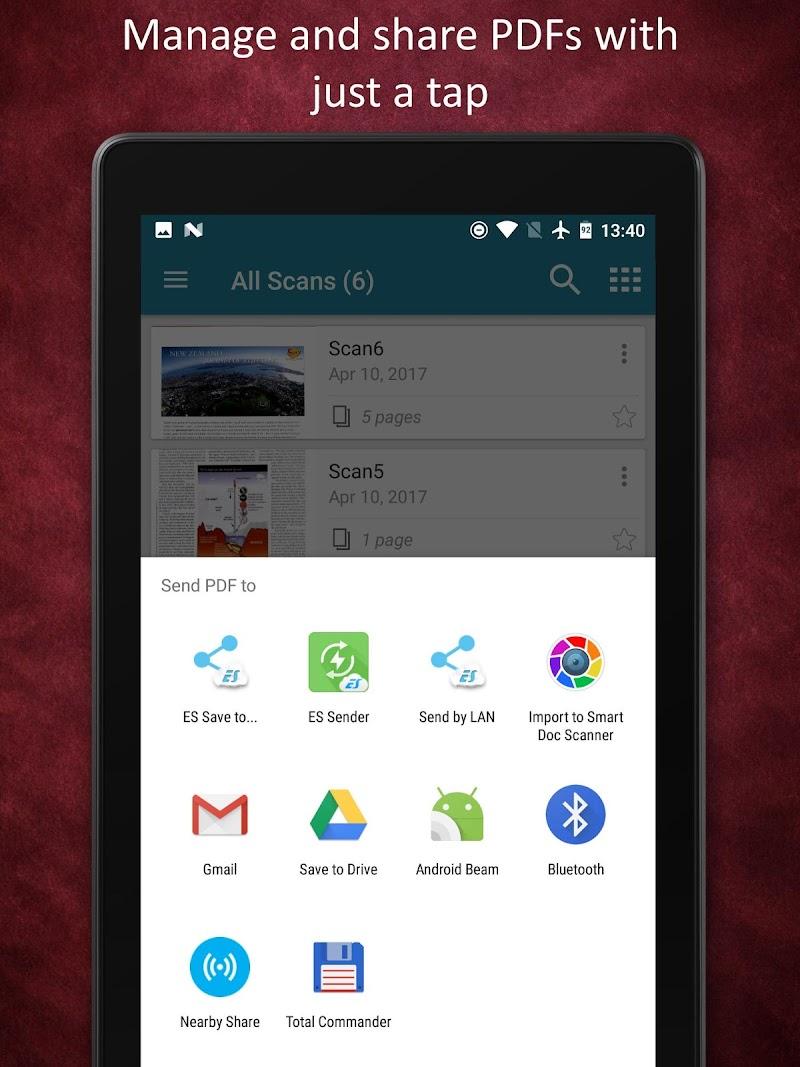 Smart Doc Scanner: Free PDF Scanner App Screenshot 15