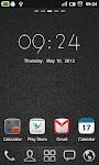 screenshot of GO Clock Widget