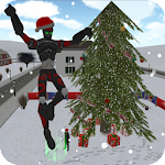 Christmas Rope Hero Apk