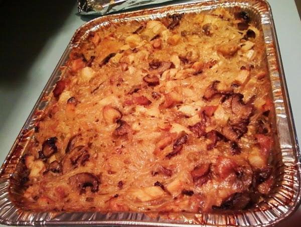 Cathys Chicken Tetrazzini Recipe