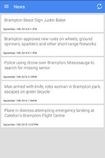 Brampton News - náhled