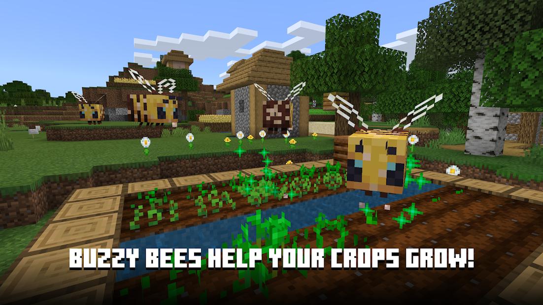 Minecraft Android App Screenshot
