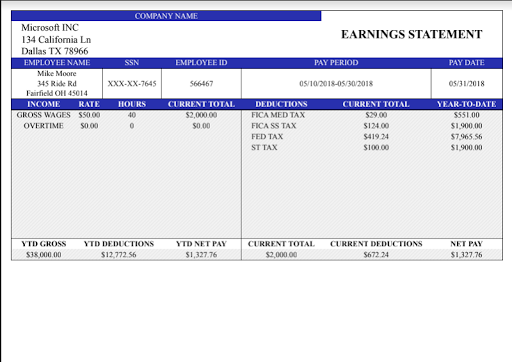 paycheck paystub calculator pro app report on mobile action app