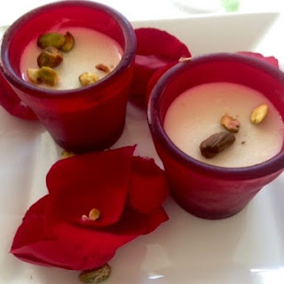 Malabi — Rose-Scented Almond Milk Pudding Recipe