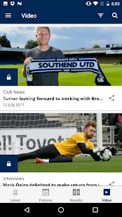 Southend United Official App- screenshot thumbnail