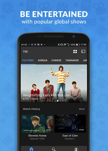 Viki: Korean Drama, Movies & Asian TV 5.0.1 screenshots 1