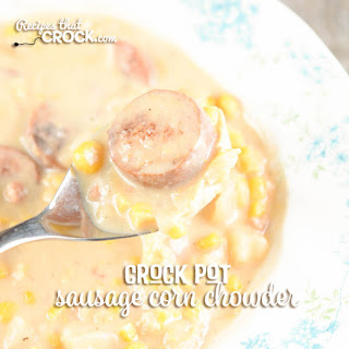 Crock Pot Sausage Potato Corn Chowder