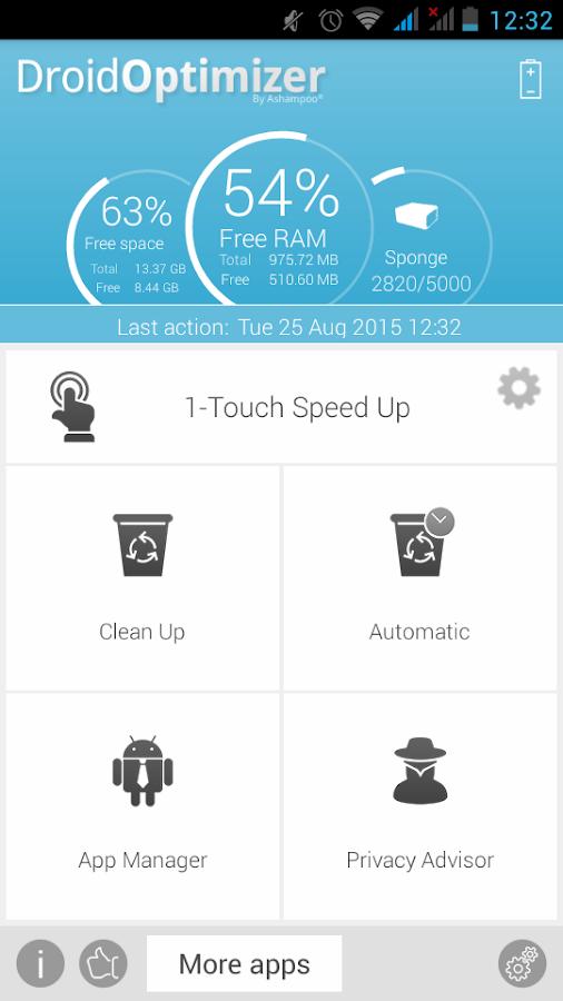 تطبيق من الشركة العملاقة Ashampo لتنظيف الاندرويد