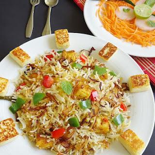 Paneer Biryani | Paneer Biryani Recipe | Paneer Recipes.