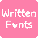 Fonts for FlipFont  Written icon