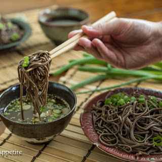Zaru Soba | Cold Japanese Buckwheat Noodles Recipe